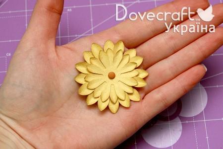 Майстер клас - робимо квіти за допомогою дироколів Dovecraft