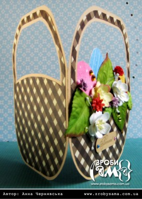 Великодня листівки у формі кошика (день 2)