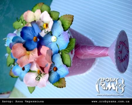 Майстер клас - лієчка з квітами