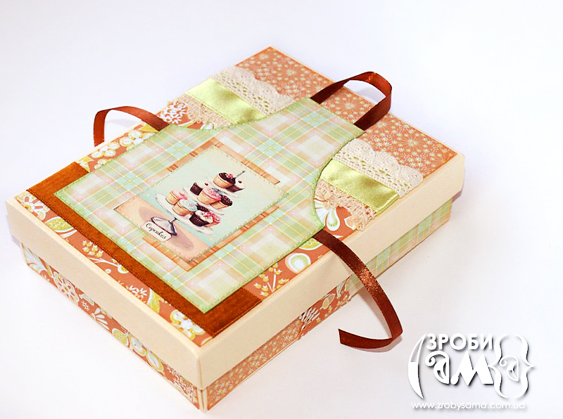 Як зробити коробочку для рецептів та листівку із фартушком. Безкоштовний шаблон | Зроби Сам(А)