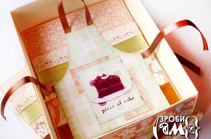 Як зробити коробочку для рецептів та листівку із фартушком. Безкоштовний шаблон   Зроби Сам(А)