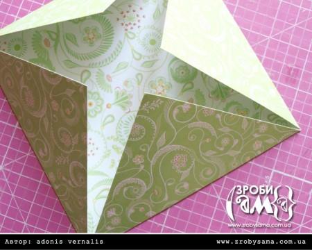 Майстер клас - коробочка-орігамі