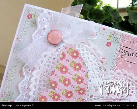 Фігурні листівки у формі метелика. День 1