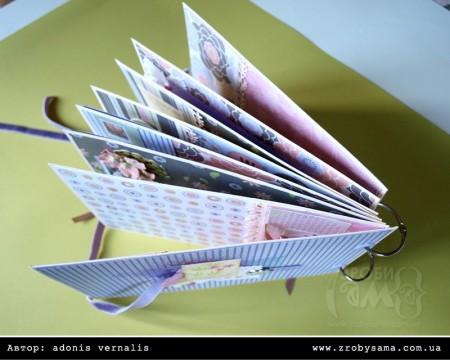 Альбом для фото в пастельних тонах