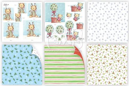 Огляд колекції наборів паперу для 3D декупажу від Helz Cuppleitch із прикладами робіт
