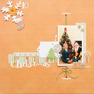 Новорічна сторінка Orange Christmas (Christmas Joy)