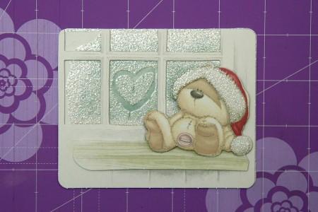 Новорічна листівка Let it Snow (Fizzy Moon Festive Fun - Decoupage)