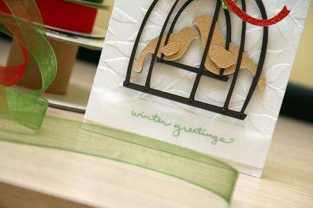Новорічні листівки за допомогою електронної машинки для вирізання. Cricut Christmas Cards Day 2