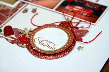 Сторінка в сімейний альбом: Christmas Traditions