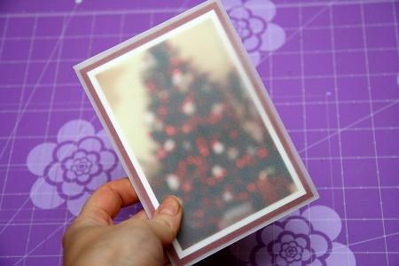 Новорічні листівки для усієї родини. Варіант III – листівки із листом