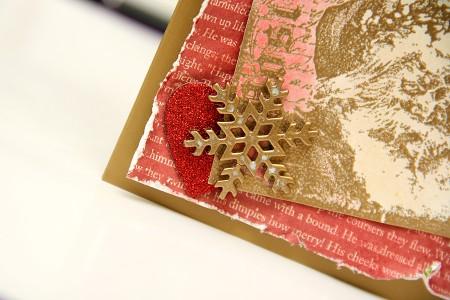 Новорічна листівка в стилі Тіма Хольтца. Детальний майстер клас