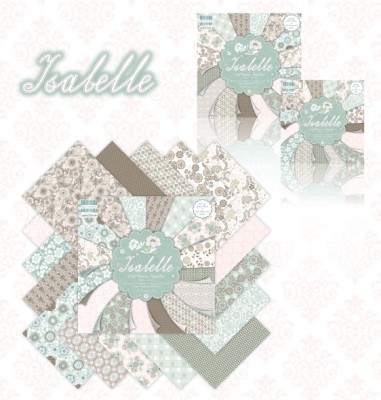 Огляд колекції Isabelle від First Edition. Частина I - листівки з використанням ножів від Spellbinders