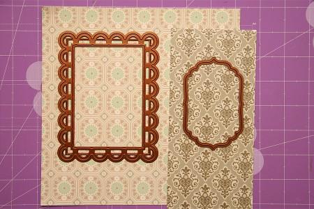 Колекція Isabelle. Частина I - листівки з використанням ножів від Spellbinders. Листівка Friends