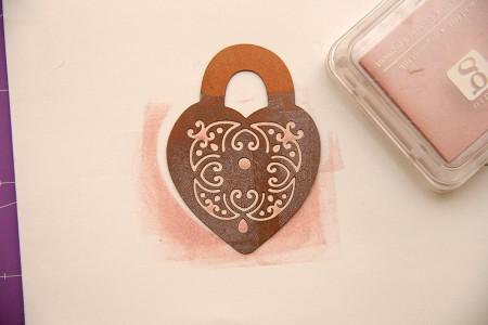 Колекція Isabelle. Частина I - листівки з використанням ножів від Spellbinders. Листівка To Love