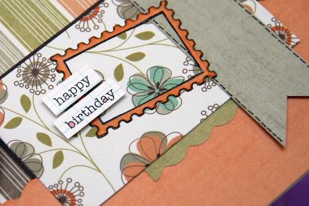 МК Весняна листівка із колекції New Leaf – Happy Birthday