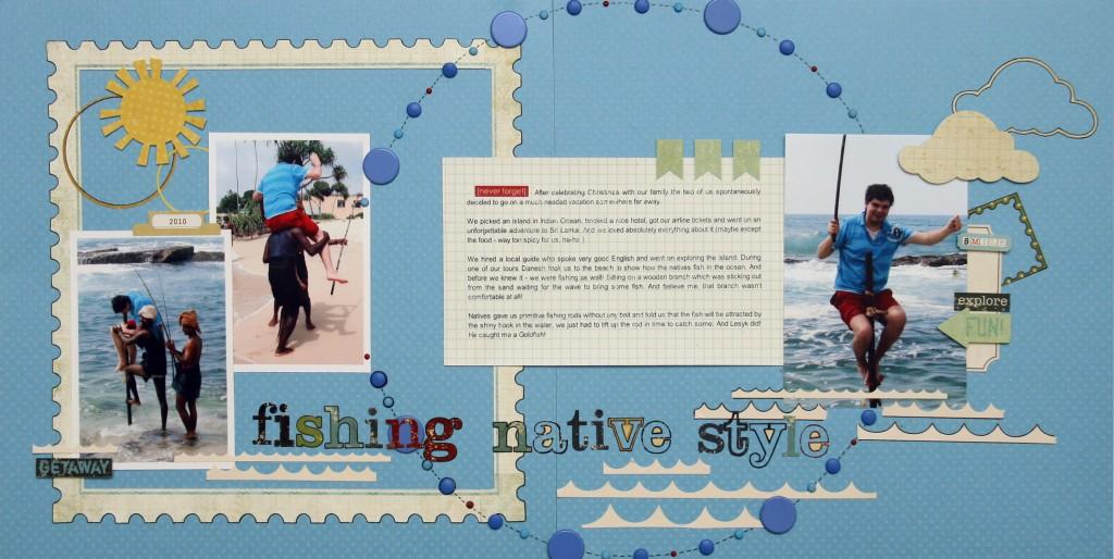 Розворот у альбом - Fishing Native Style