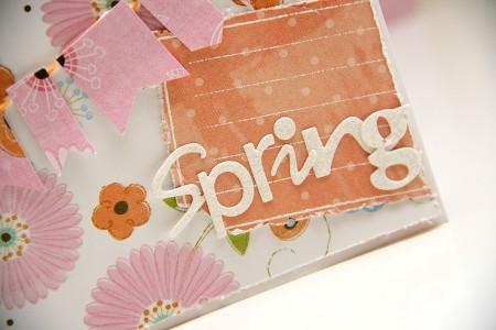 Весняна листівка Spring