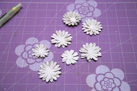 Колекція Spring Drop (First Edition) – покрокове створення скрап сторінки Spring Flowers