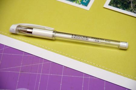 Техніка імітації шва за допомогою ручки/маркера (складний варіант)