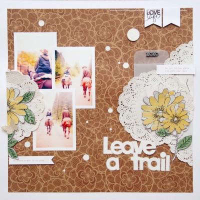 Сторінка Leave a Trail для Арт Уголка