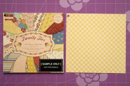 Листівка Heartfelt Wishes. Детальний покроковий майстер клас (колекція Family Ties від First Edition)