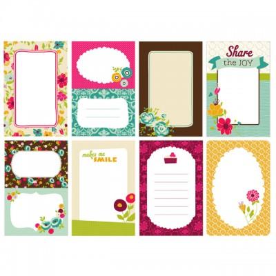 Карточки для журналінгу Just Write, Garden Café, American Crafts, AC-64011