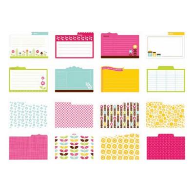 Карточки для журналінгу/рецептів Just Write, Store Room, American Crafts, AC-64014