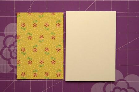 Спосіб використання обрізків паперу разом із негативами від висічок на прикладі листівки із колекції Family Ties
