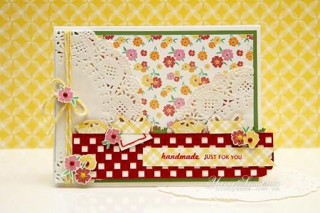 Листівка Handmade just for you (колекція Family Ties від First Edition)