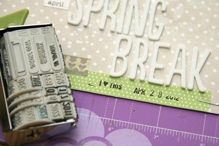 """Транспортна"" сторінка для Арт Уголка April Spring Break"