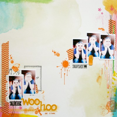 Сторінка Woo Hoo для Арт Уголка