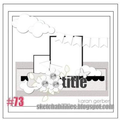 Sketchabilities Sketch #73 Reveal. Сторінка за скетчем від Sketchabilities