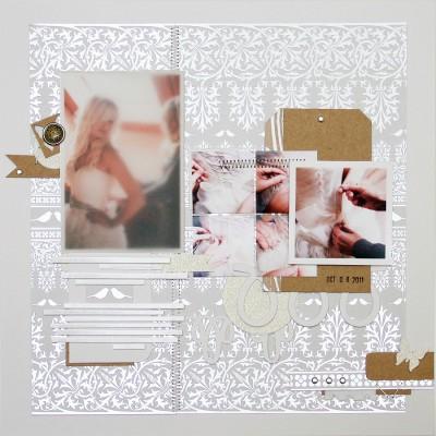 Сторінка у весільний альбом для Арт Уголка
