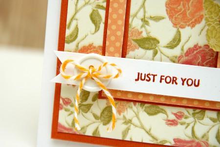 Листівки із колекції Boho Chic - Just for you