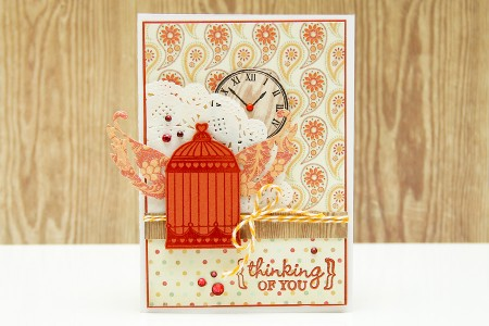 Листівки із колекції Boho Chic - Thinking of you