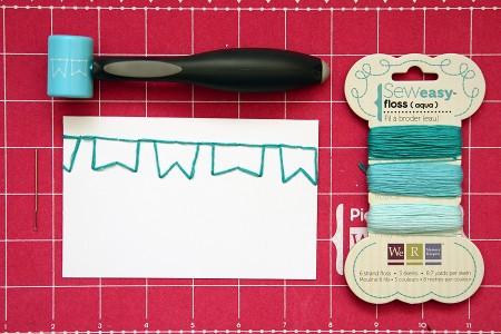 Знайомимось ближче: інструмент для ручного шва Sew Easy від WeRMemory Keepers - хитрощі роботи