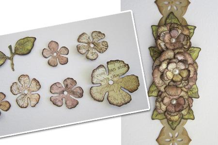 Знайомимось ближче: Spellbinders Paper Arts! Частина IV – робимо об'ємні прикраси для своїх робіт