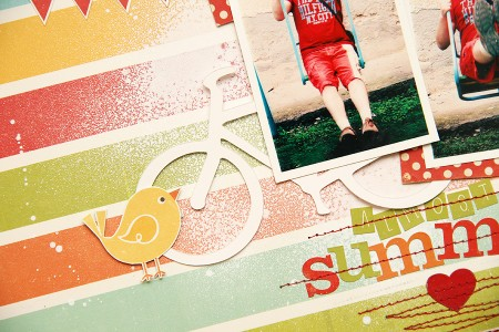 Сторінка Almost Summer (із колекції Hello Summer від Echo Park)