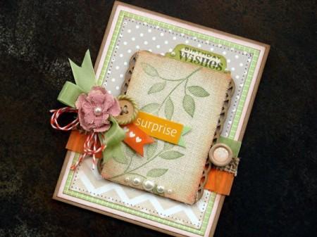 Папір із рюшами від American Crafts - Ruffle Crepe. Огляд новинки!