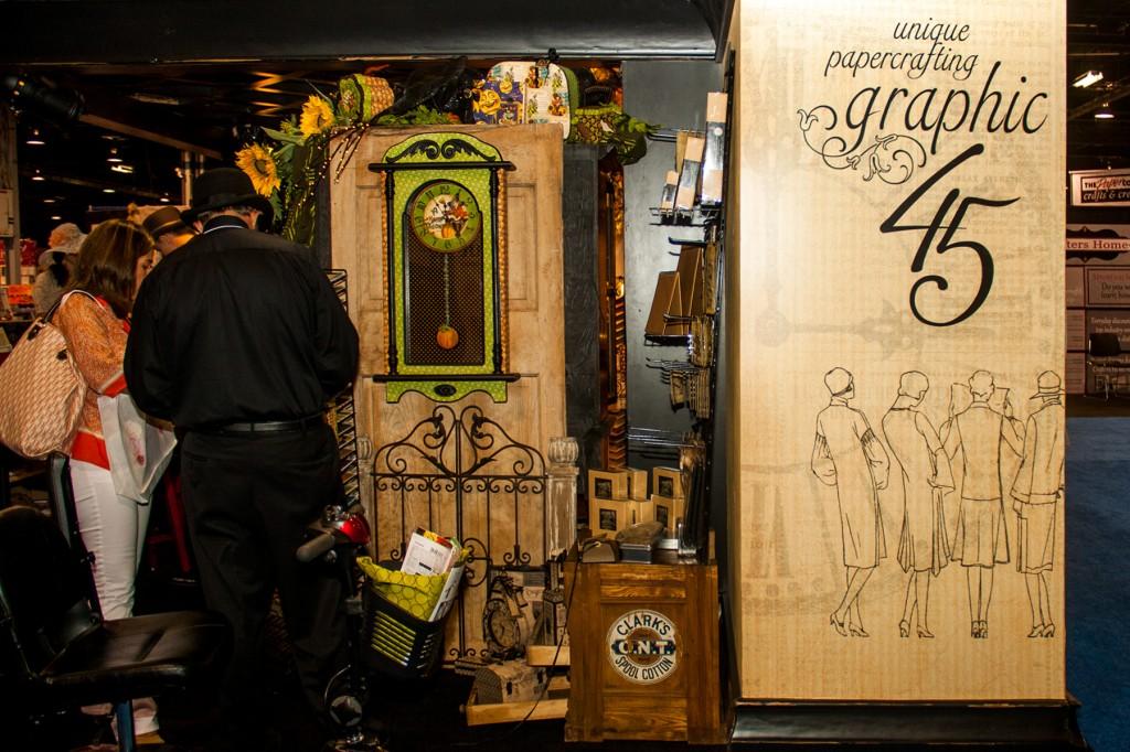 Вітаємо вас на літній виставці CHA 2012. День 3. Частина 3. У кімнатці Graphic 45