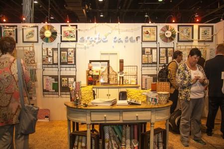 Вітаємо вас на літній виставці CHA 2012. День 1. Частина 9. Crate Paper & Studio Calico