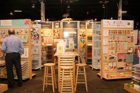 Вітаємо вас на літній виставці CHA 2012. День 3. Частина 8. У кімнатці Making Memories
