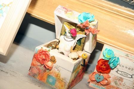 Вітаємо вас на літній виставці CHA 2012. День 3. Частина 5. У кімнатці Prima та My Mind's Eye