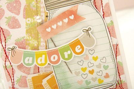 Листівка за скетчем #64 від Cardabilities – Adore