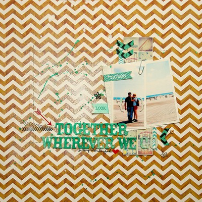 Сторінка Together Wherever We Go у наш сімейний альбом