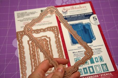 Листівки із новими ножами від Spellbinders (Summer CHA 2012). Листівка Hello From The Heart