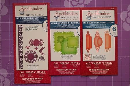 Листівки із новими ножами від Spellbinders (Summer CHA 2012). Листівка Heartfelt Wishes