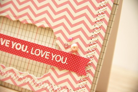 Листівка Love you із колекції Sunnyside від Pebbles
