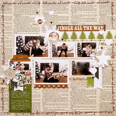 Новорічна сторінка 31 у наш сімейний альбом