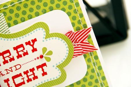 Листівка Merry & Bright для Арт Уголка